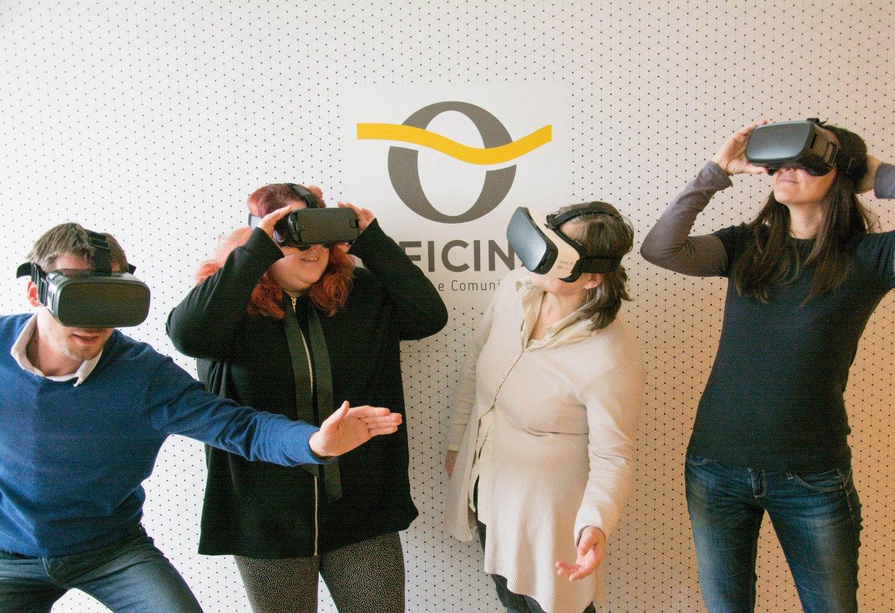 Realtà virtuale:<br>il brand mi ama!