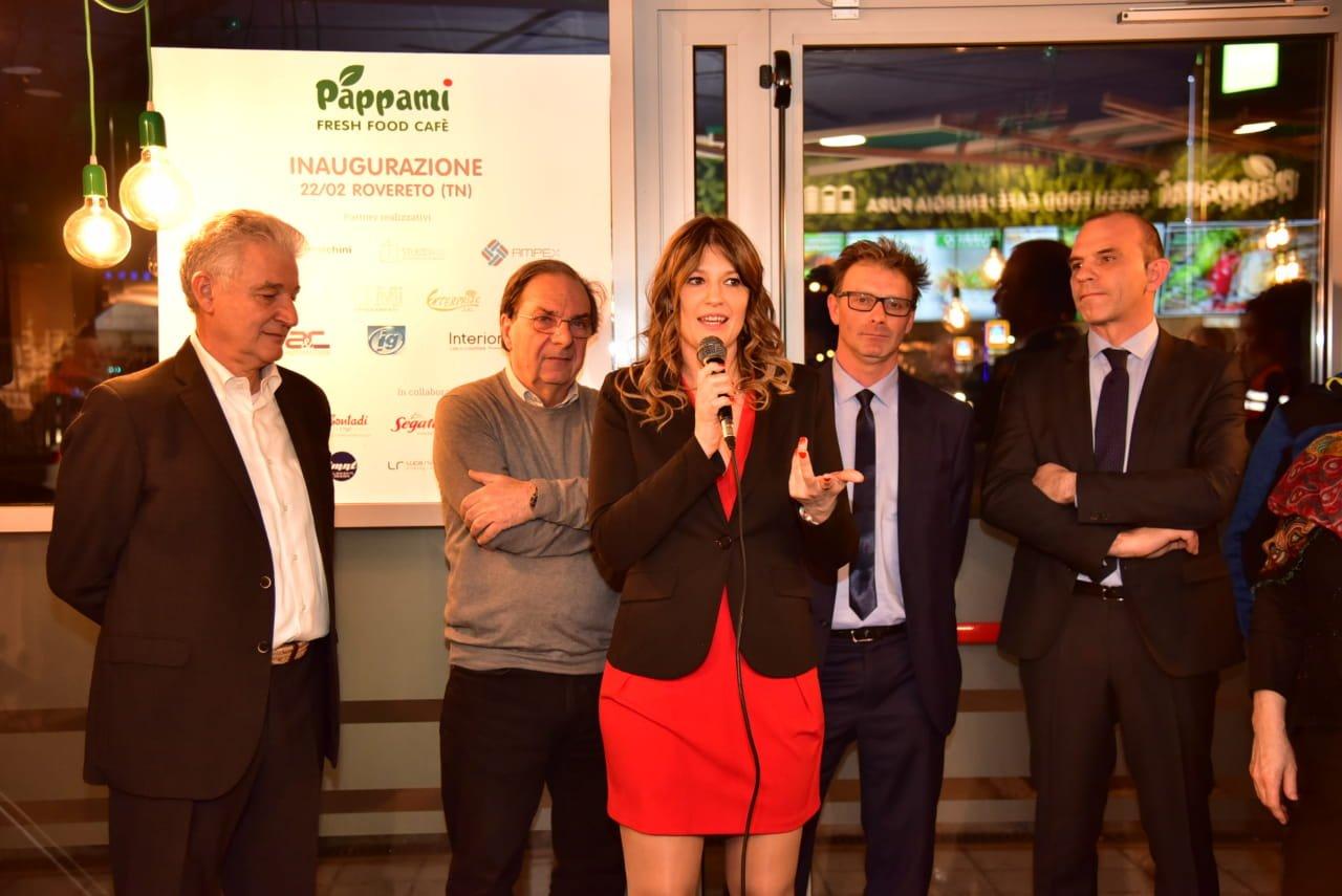 Pappami, Fresh Food Café evento di inaugurazione nuovo ristorante a Rovereto