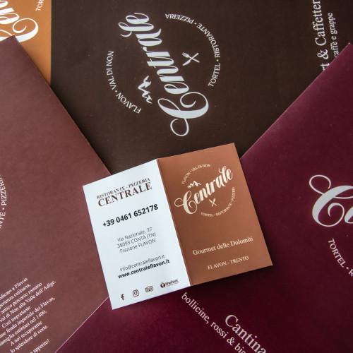 Ristorante Pizzeria Centrale: re-branding in atto